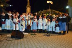 2016 Zpívání koled u kostela
